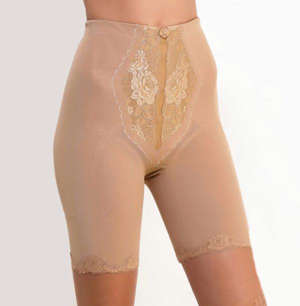 Утягивающие панталоны Нефертити бежевые, вид спереди