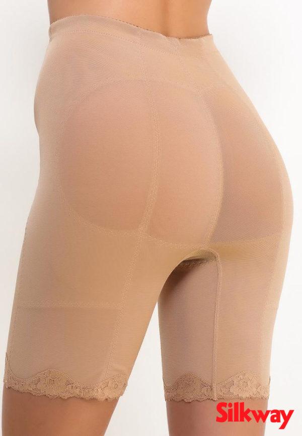 Утягивающие панталоны Нефертити бежевые, фото вид сзади