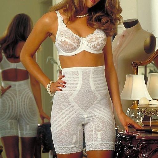 Антицеллюлитные панталоны белые фотография