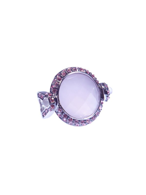 Кольцо «Розовый опал»