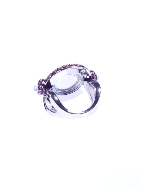 Кольцо «Розовый опал» 3